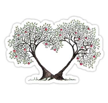 'love trees' Sticker by vian