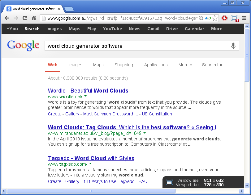 word cloud generator